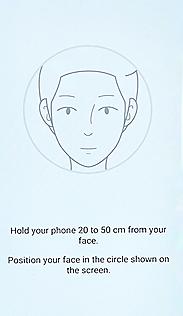 Voorbeeld gezichtsherkenning