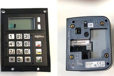 betaalautomaat Ingenico IUP250LE + IUC250