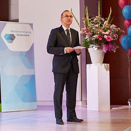 Jaarcongres Betaalvereniging Nederland, directeur Piet Mallekoote