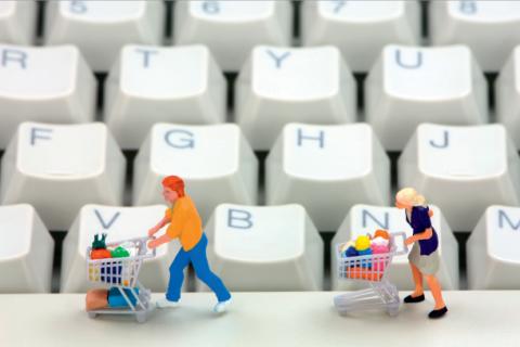 iDEAL shoppers met winkelwagentje
